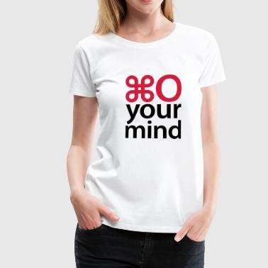 Open your mind © - Camiseta premium mujer