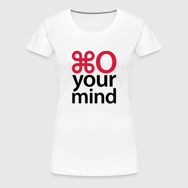 Open your mind - Frauen Premium T-Shirt