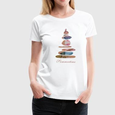 summertime - Frauen Premium T-Shirt