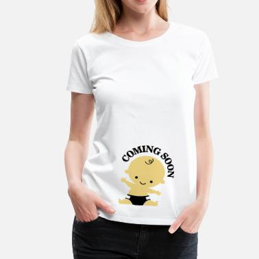 New Mum Baby - Coming Soon - Women's Premium T-Shirt
