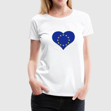 European Heart - Women's Premium T-Shirt