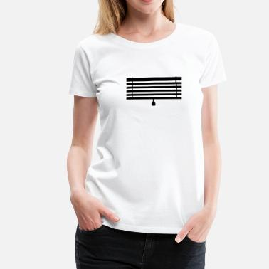Curtain Jalousie - Blinds - Curtain - Women's Premium T-Shirt