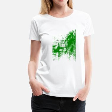 Banquet Surreal art green - Women's Premium T-Shirt
