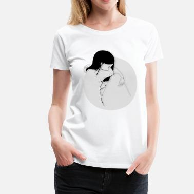 Black And White Collection black girl - Frauen Premium T-Shirt
