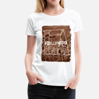 Hollywood LA Los Angeles Estados Unidos US Hollywood - Camiseta premium mujer