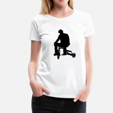 Sad Keanu Sad Keanu Tricycle - Women's Premium T-Shirt