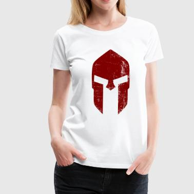 Spartaner Helm  - Frauen Premium T-Shirt