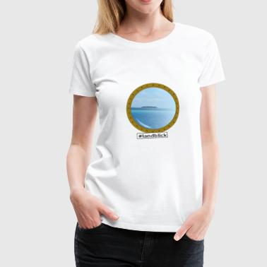South Seas Land view South Sea - Women's Premium T-Shirt