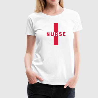 Nurse Hospital Nurse Cross 1c - Premium-T-shirt dam