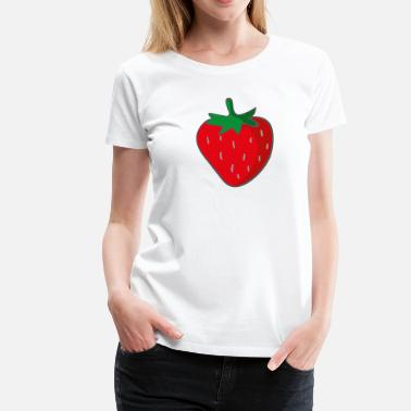 Strawberry strawberry - Women's Premium T-Shirt