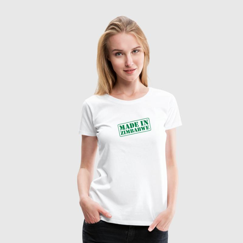 Made In Zimbabwe - Women's Premium T-Shirt