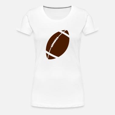 Fútbol americano Camiseta premium mujer  34830cee54b