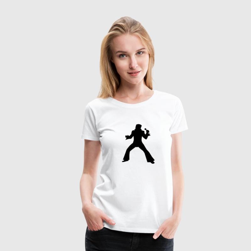 Elvis - Women's Premium T-Shirt