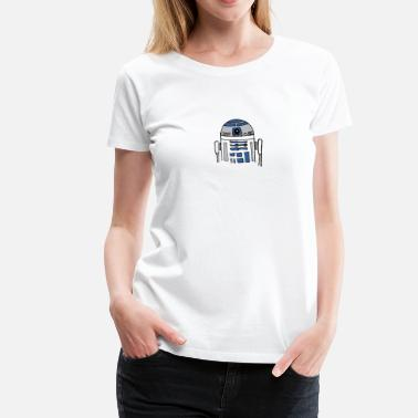 R2d2 R2D2 much? - Women's Premium T-Shirt