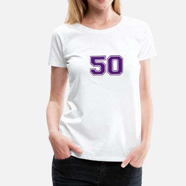 50 And Fabulous 50 - Women's Premium T-Shirt