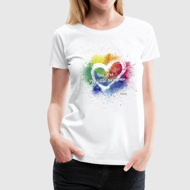 Little Rainbow - Vrouwen Premium T-shirt