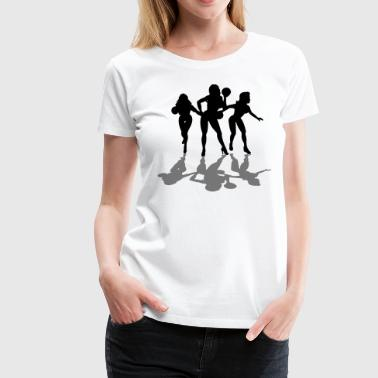 Team Charlie Bowling Angels - Women's Premium T-Shirt