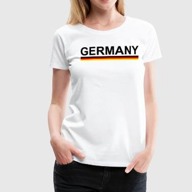 World Cup European Football Championship Germany with flag - Women s  Premium T-Shirt bb90dafb3a