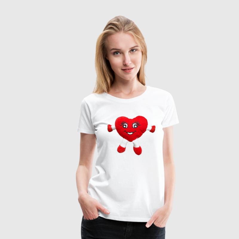 3D Lachendes Herz von Design@Caraccia | Spreadshirt