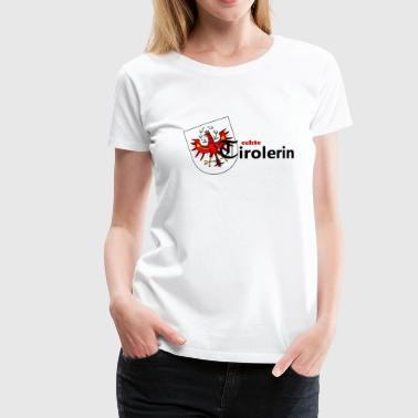 Tyrolean Tyrolean coat of arms woman gift idea - Women's Premium T-Shirt