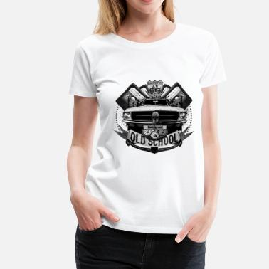Old School Audio Old school - Women's Premium T-Shirt