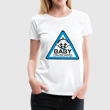 Baby Board Boy - Frauen Premium T-Shirt