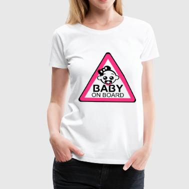 Baby Board Girl - Frauen Premium T-Shirt