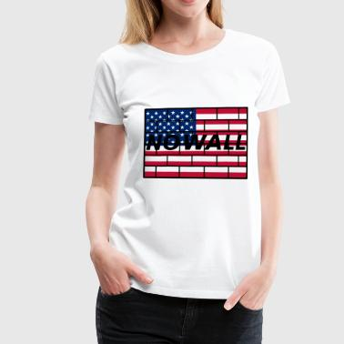 no wall - Women's Premium T-Shirt