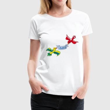 Birds Levi - Women's Premium T-Shirt