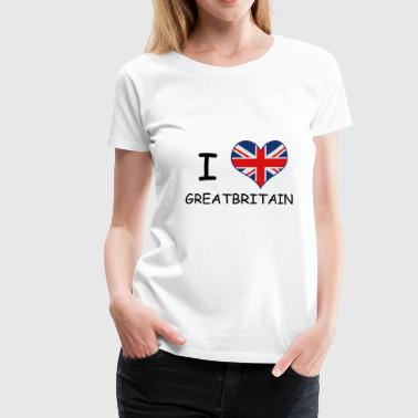 Great Britain! Nice gift idea for lovers - Women's Premium T-Shirt