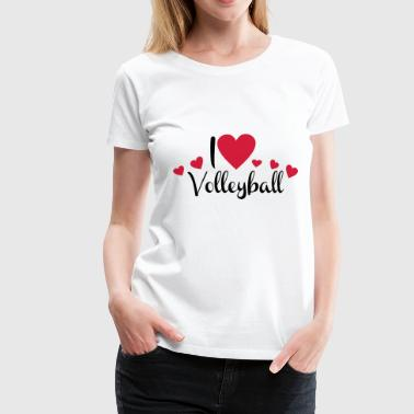 2541614 15899811 volleyball - Frauen Premium T-Shirt