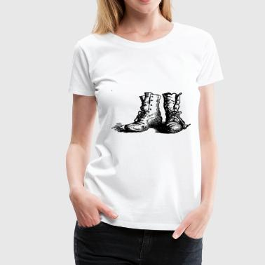 Boot Boots - Women's Premium T-Shirt