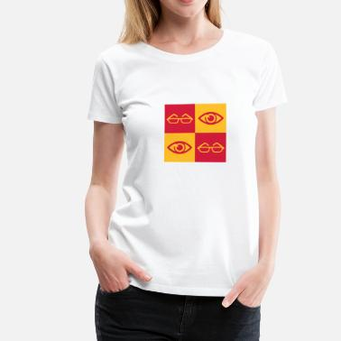 Opticien opticien / Optical / ogen / bril - Vrouwen Premium T-shirt