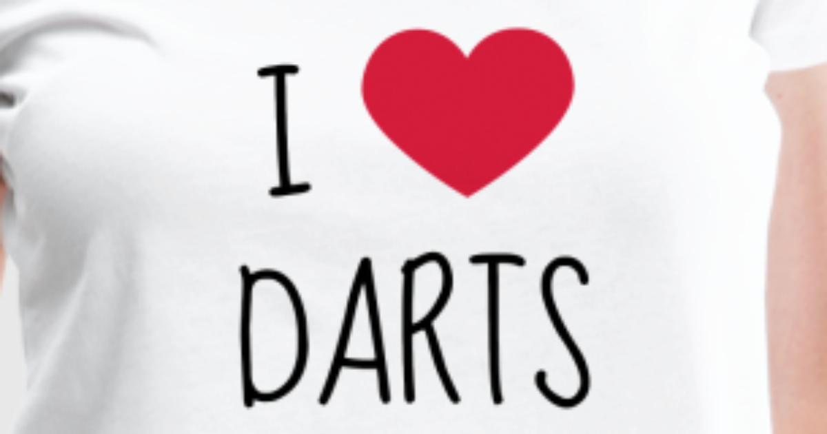Darts Ziel Sport Sportler Spieler von Funky Art | Spreadshirt