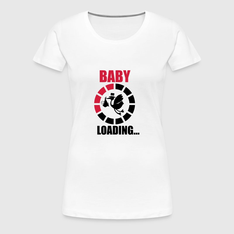BABY LOADING 3 - Women's Premium T-Shirt