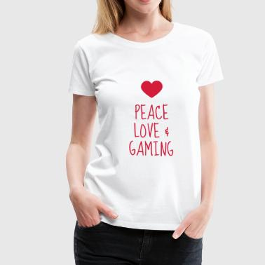 gamer gaming geek game spel spela - Premium-T-shirt dam