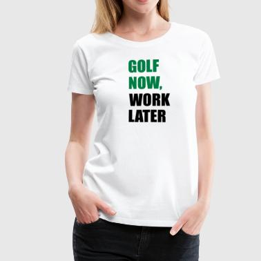 Wang golf - Women's Premium T-Shirt
