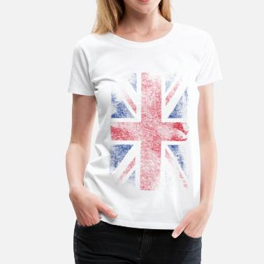 Vlag union jack - used look - Vrouwen Premium T-shirt
