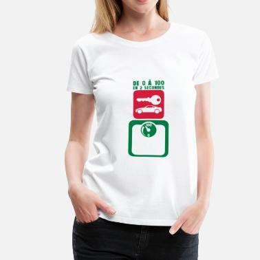 Tday2015 tday2015 cle voiture balance pese person - T-shirt Premium Femme