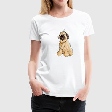 Briard - Hütehund - Hund - Cartoon - Frauen Premium T-Shirt