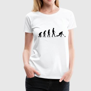 Bowling Evolution Bowling - Women's Premium T-Shirt