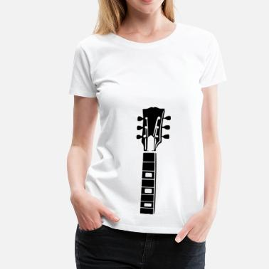 Les Paul Gitarrenhals - Frauen Premium T-Shirt