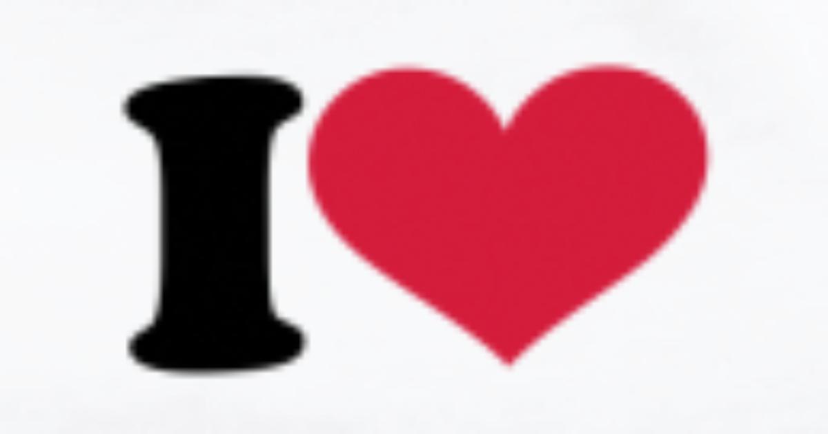 I Heart Love Hart Liefde Hearts Van I Love Spreadshirt