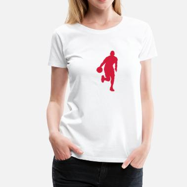Basketspelare Basketspelare - Premium-T-shirt dam