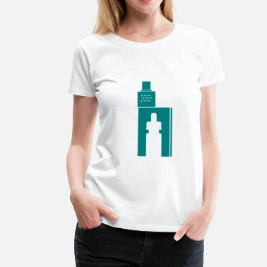 Mod Art Vape T-shirts Boxmod Sign - Women's Premium T-Shirt