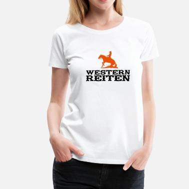 Western Riding Western Riding - Women's Premium T-Shirt