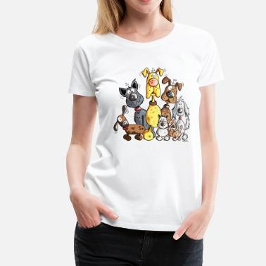 Dog Funny Dogs - Women's Premium T-Shirt