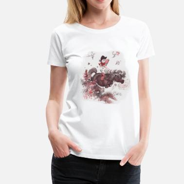 Thelwell - Pony outside in nature - Vrouwen Premium T-shirt