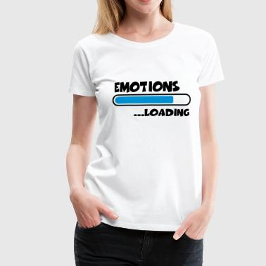 Emotions loading - Vrouwen Premium T-shirt