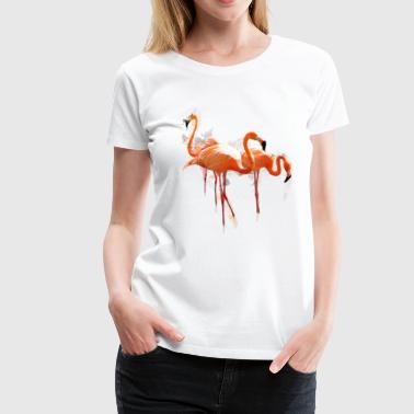 flamingo1 - Women's Premium T-Shirt